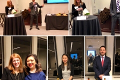 Winston Strawn Annual Wine Tasting Event cohosted by Beth Kramer and Scott Naidech, January 2018